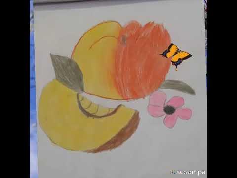 Eyyubzade Inci/balaca ressam/balaca ressamin dunyasi/wow art/daily change painting