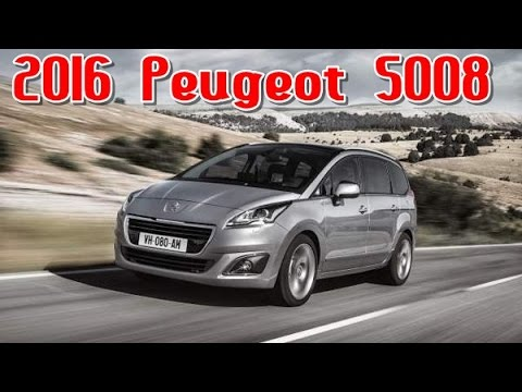 2016 peugeot 5008 redesign interior and exterior youtube. Black Bedroom Furniture Sets. Home Design Ideas