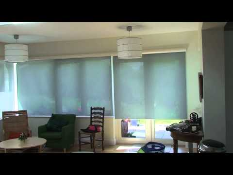 Conservatory roller blinds with single cassette (part 1)