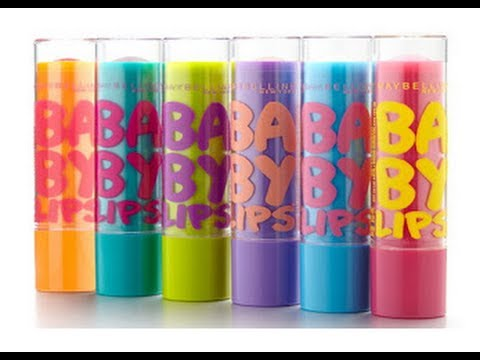 {Review} Maybelline Baby Lips - YouTube