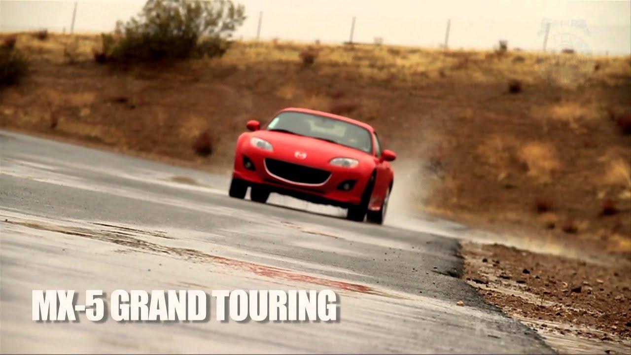 2012 Mazda Mx 5 Miata Drifting Our Long Term Loaner In The Rain