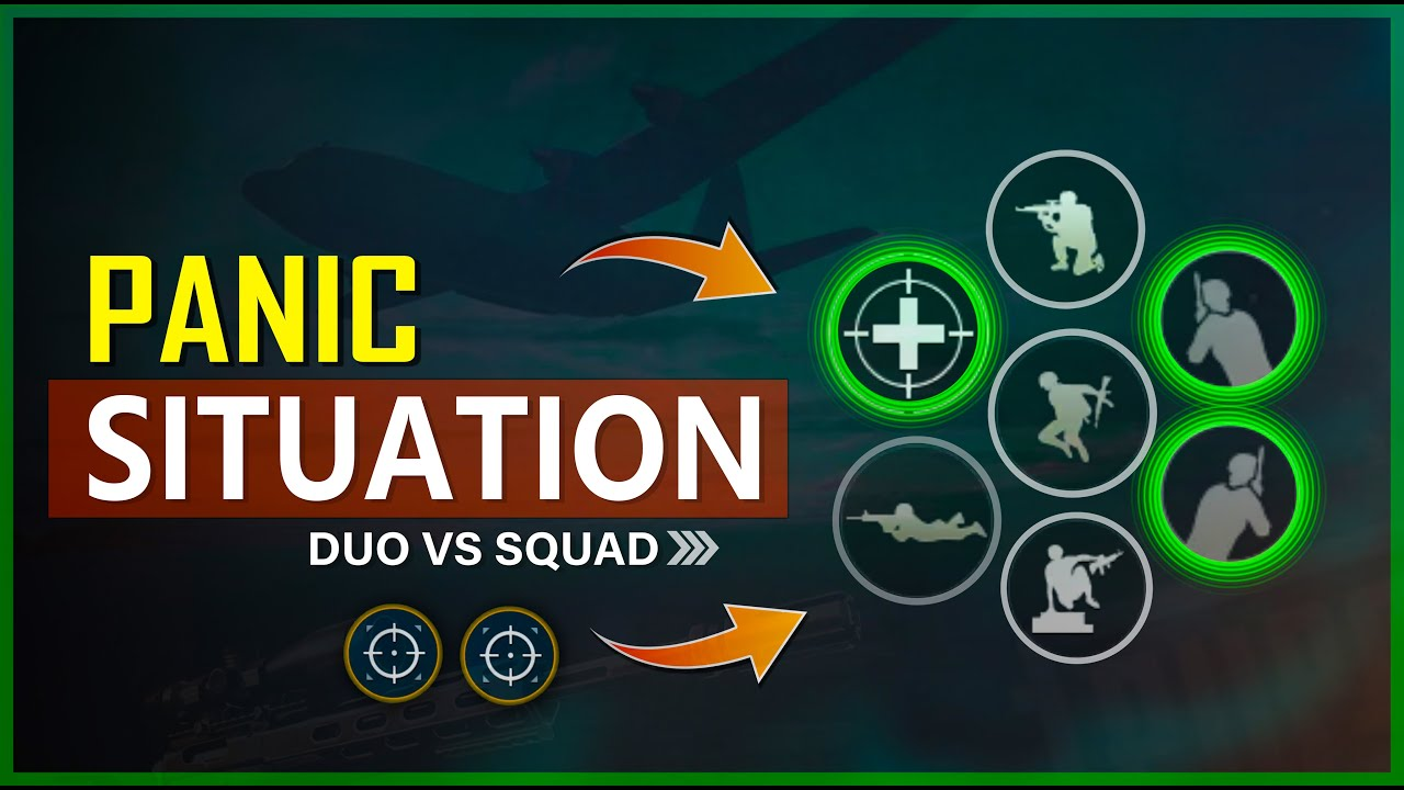 🔥 HOW TO HANDLE PANIC SITUATION IN PUBG MOBILE | NEW TIPS AND TRICKS