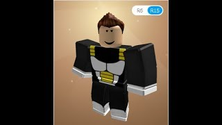 WIE DIE BLACK COLOR UNIFORM VON VEGETA IN ROBLOX!!