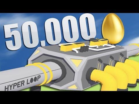 I Built A Hyperloop To Ship Ridiculous Amounts Of Eggs (Egg, Inc.)