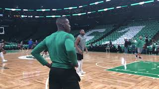 Terry Rozier shows off new