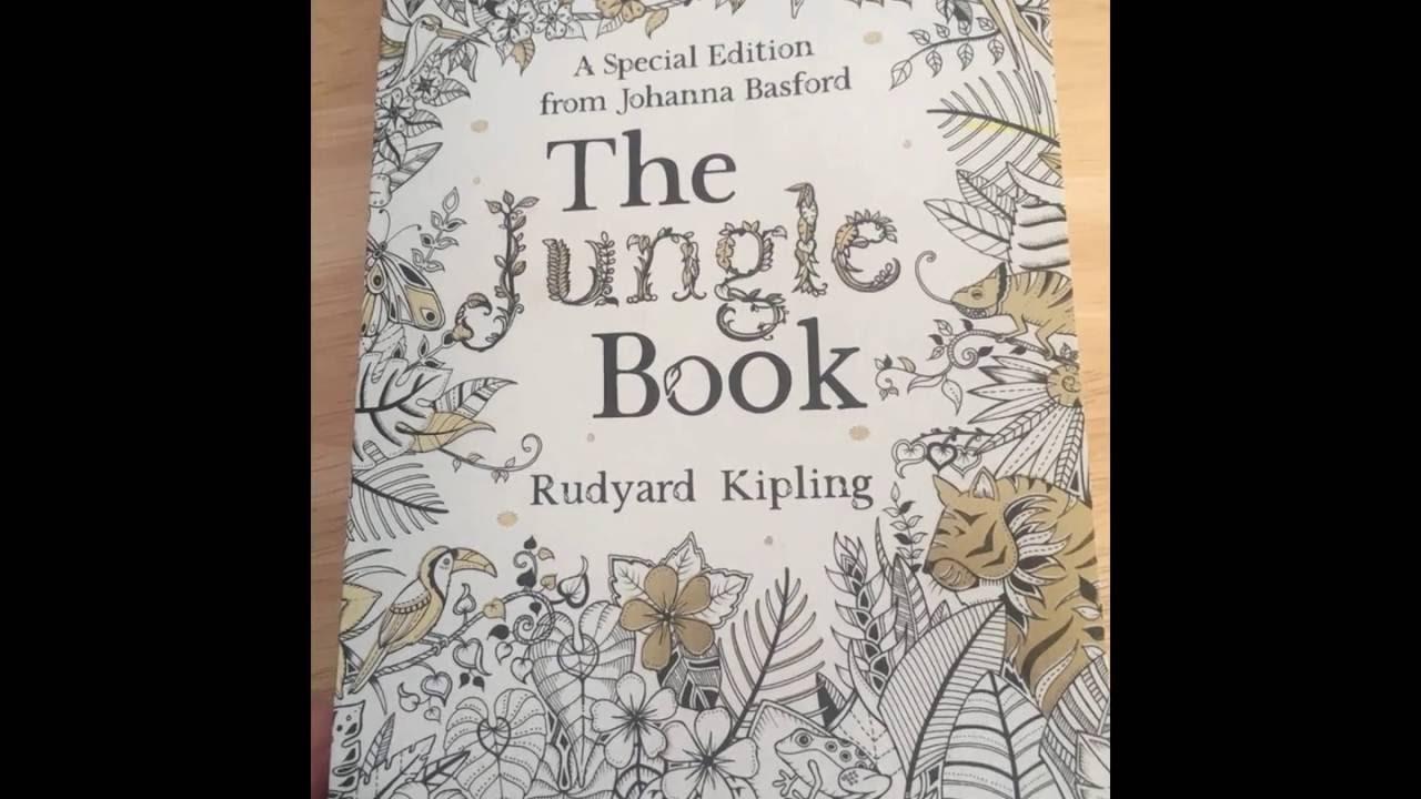 The Jungle Book Johanna Basford Edition