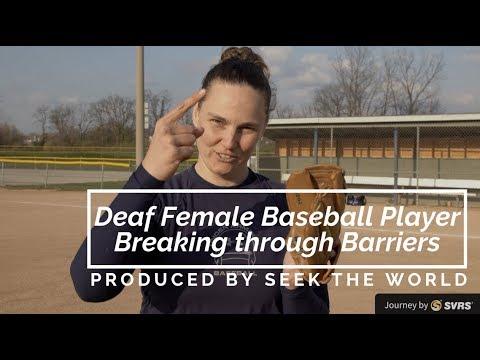 Deaf Female Baseball Player Breaking through Barriers