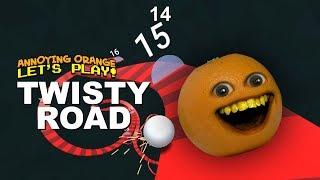 Twisty Road! [Annoying Orange Plays]