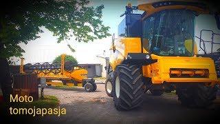 Nowy Nabytek Sąsiada 2019 ! Kombajn New Holland CX 6.80