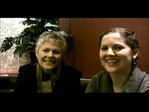 Lynn  Redgrave and daughter  Annabel Clark   talk about  breast cancer