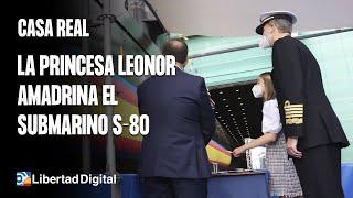 Leonor, madrina del submarino S-81 'Isaac Peral'