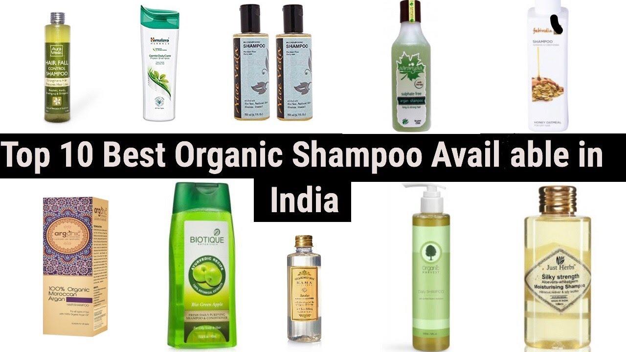 Top 10 Best Organic Shampoo In India Makeup Duniya Youtube