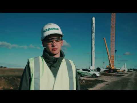 Liebherr - Wind power project in Ulyanovsk region