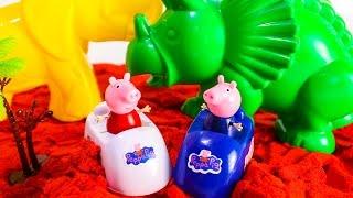 СВИНКА ПЕППА Новые серии Развивающие мультики из игрушек Видео для детей Игрушки Свинка Пеппа Джордж