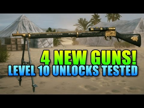 All 4 New Level 10 Guns Tested! - 120 Round Hellriegel Defensive | Battlefield 1
