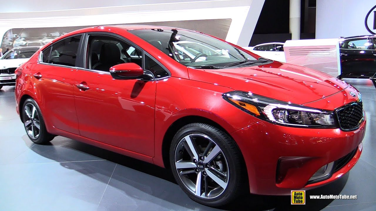 2017 Kia Forte Exterior And Interior Walkaround 2016 Detroit Auto Show