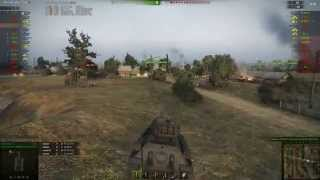 T-34-85 gameplay - Ace Tanker - World of Tanks - 9.9 XVM mod pack