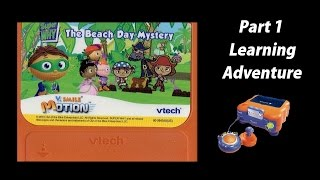 Super Why! The Beach Day Mystery (V.Smile V.Motion) (Playthrough) Part 1 - Learning Adventure