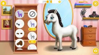 Животные Парикмахерские Детские Игры - Забавные Животные Наряжаются, Макияж Для Домашних Животных С