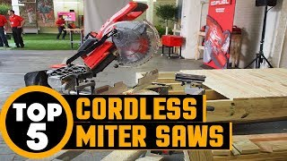 ✅ Cordless Miter Saw: Top Rated Cordless Miter Saw Reviews | Best Cordless Miter Saw (Buying guide)