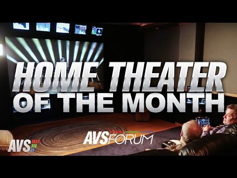 Home Theater of the Month: The GMG Theater - YouTube