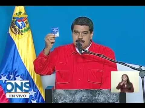 Presidente Nicolás Maduro vota en la Constituyente este 30 de julio