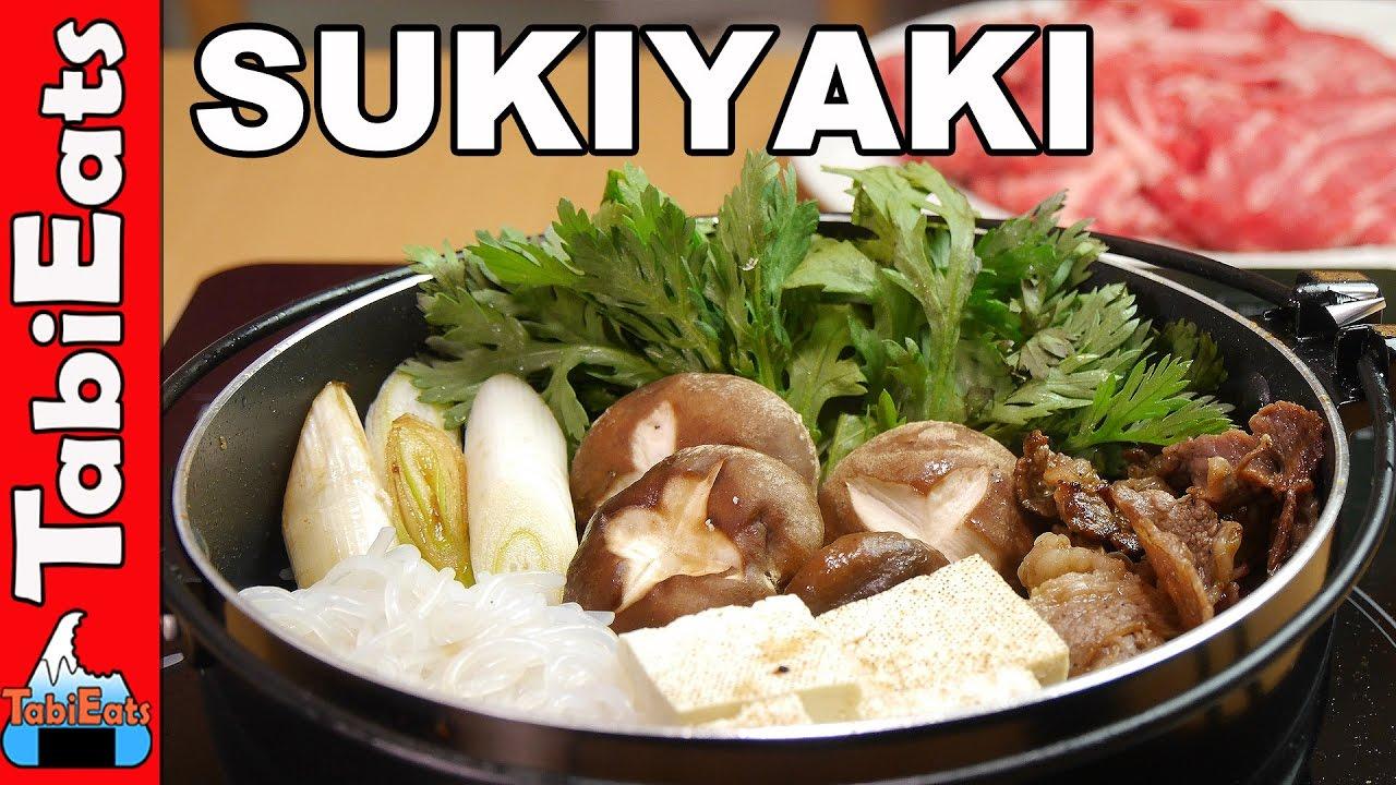 How to Make Sukiyaki pictures