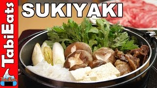 How to Make Sukiyaki (Japanese Beef Hot Pot) RECIPE