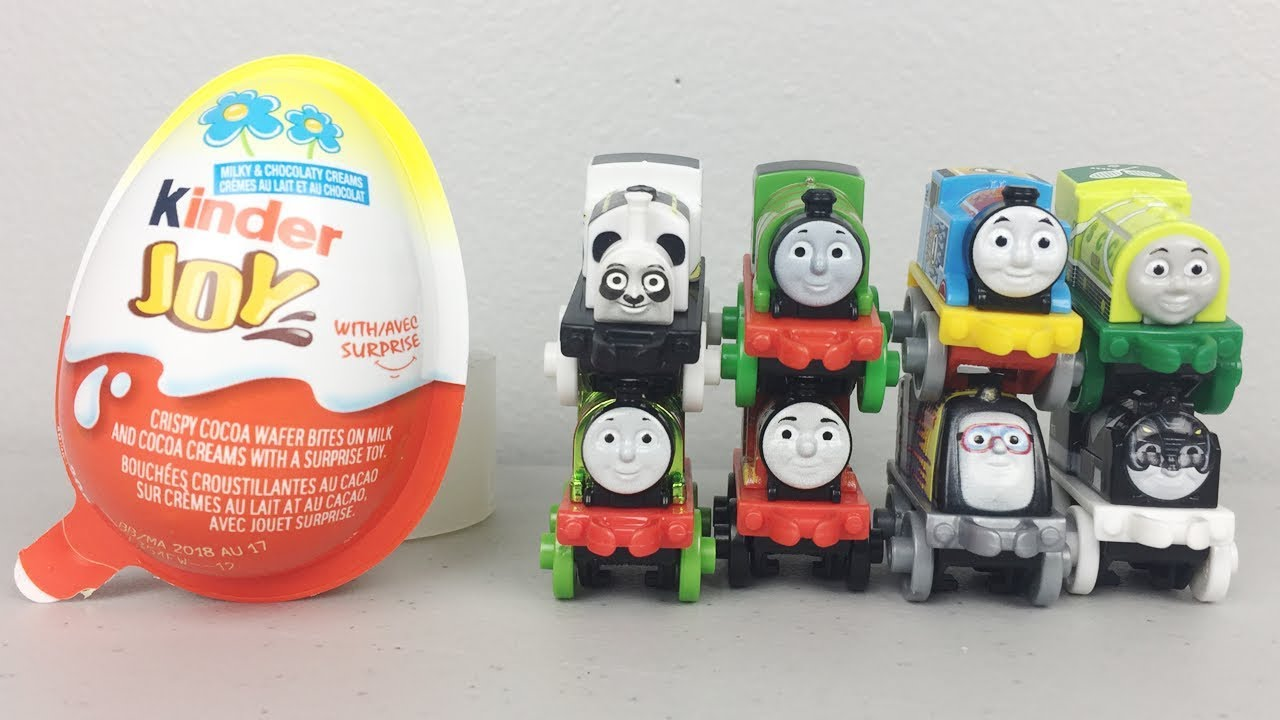 Thomas and Friends World's Fastest Mini Engine Kinder Joy