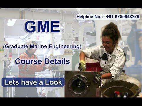 GME (Hindi Version) (Graduate Marine Engineering) | After B.tech Mechanical