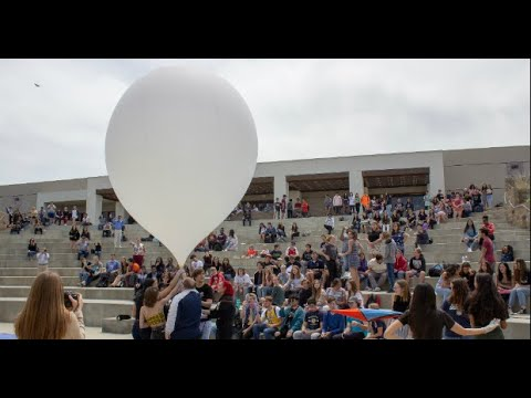 West Ranch High School Students Launch Science Experiments To Stratosphere