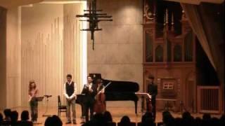 「カルテット!」音楽劇コンサート(一部) 2010年12月18日音楽劇コンサ...