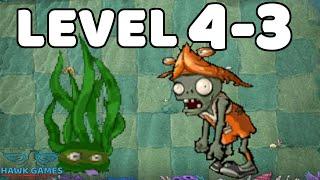 Plants vs Zombies Javascript East Sea Dragon Palace 4-3