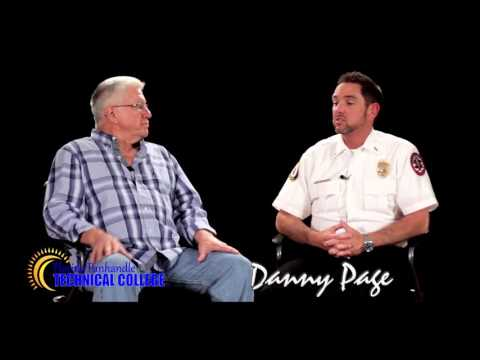 Danny Page, instructor of the EMT Program at Florida Panhandle Technical College