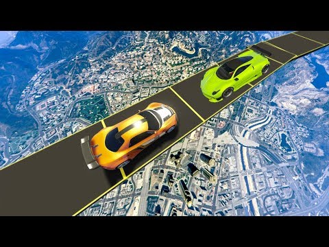LA COURSE LA PLUS HARD SUR GTA 5 ONLINE