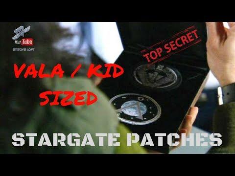 Download VALA / KIDS SIZED STARGATE PATCHES - STITCH'S LOFT