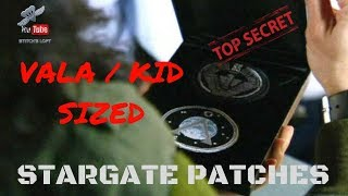 VALA / KIDS SIZED STARGATE PATCHES - STITCH'S LOFT