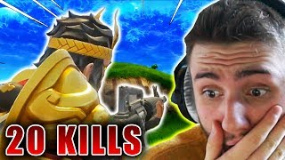 WITH NEW WUKONG SKIN SIEG (20 Kills) | Fortnite Battle Royale (English)