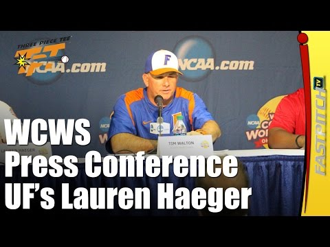 2015 WCWS | Press Conference Session 2 | Florida