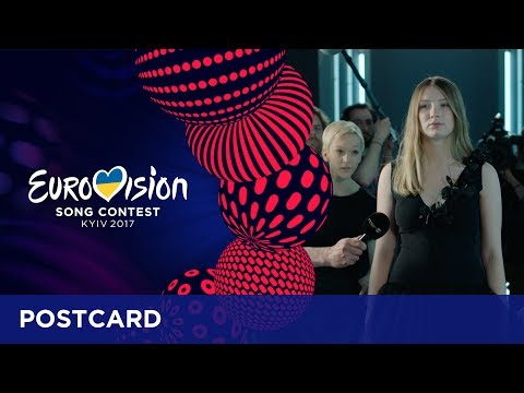Postcard of Blanche from Belgium - Eurovision Song Contest 2017