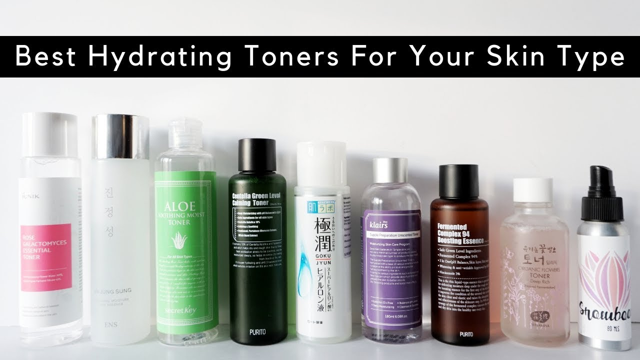 Best Toners For Your Skin Type! | Korean Hydrating Toners