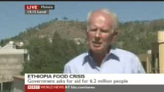 BBC's Mike Wooldridge Reporting Ethiopian Current Famine from Mekele City - Oct 22, 2009