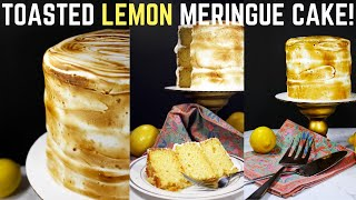 How to Make Lemon Meringue Cake  CakeItToMe