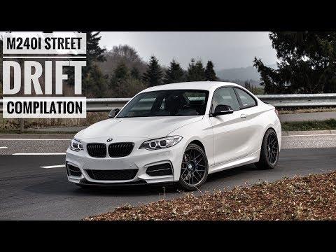 Смотреть BMW M240i Street Drift Compilation | Straight Pipe Exhaust Sound | Drexler LSD онлайн