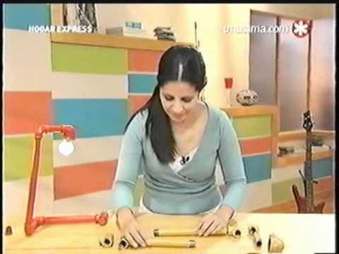 Liliana Cota Hogar Express Lampara Con Tubos Youtube