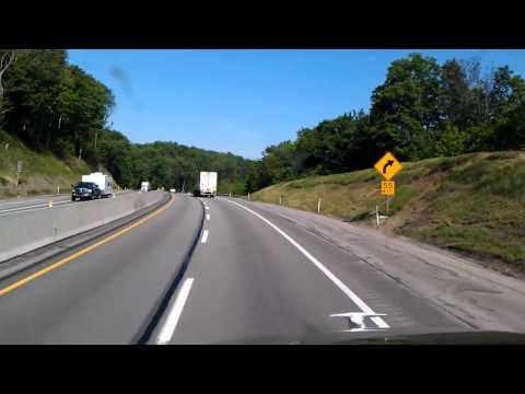 Allegheny Mountain Tunnel near Somerset, Pennsylvania