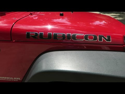 How to Install Jeep Hood Decals | Vinyl lettering
