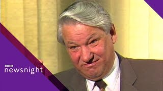FROM THE ARCHIVE: Boris Yeltsin interview 1988 - BBC Newsnight