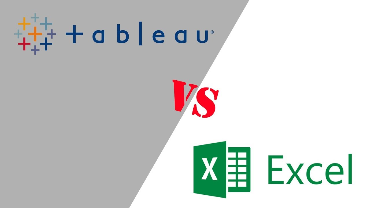 tableau vs excel  Tableau vs Excel: When to use Tableau and when to use Excel - YouTube