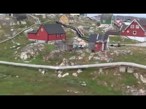 Greenland West Coast in Autumn from Narsaq to Ilulissat by ferry Video